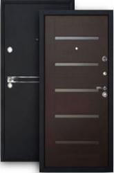 Входная дверь ХИТ-9 шелк/венге