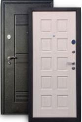 Входная дверь 3К+ Щит беленый дуб