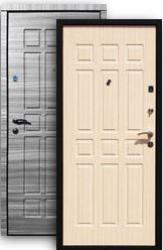 Входная дверь Стайл 2К grey/стиль бел.дуб