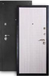 Входная дверь МД-26 серебро/сандал белый