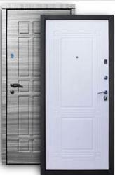 Входная дверь Стайл 2К grey/ампир бел.дуб