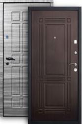 Входная дверь Стайл 2К grey/венге