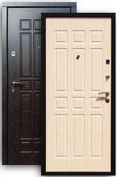 Входная дверь Стайл 2К венге/стиль бел.дуб