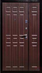 Стальная дверь Русс ЭКО 1200 венге