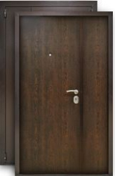 Входная дверь Распашная 1200 венге