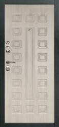Стальная дверь Сити белёный дуб