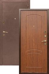 Входная дверь 1А кор/орех тисненый