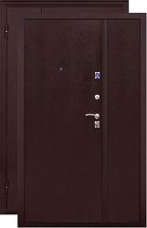 Двустворчатая дверь ЧенФенг 2К DBL медь