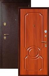 Входная дверь Юг 03 итальянский орех