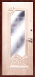 Входная дверь Оптима Ольга ларче светлый