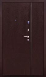 Двустворчатая дверь 2К DBL медь