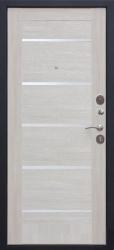 Входная дверь Гарда 75Ц муар/листв. беж