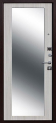 Стальная дверь Царское Зеркало MAXI сонома
