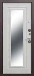 Входная дверь Царское Зеркало медь/ясень