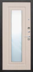 Стальная дверь Царское Зеркало муар/ясень