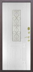 Входная дверь Венеция беленый дуб