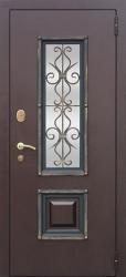 Входная дверь Венеция венге