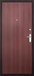 Входная дверь Эконом АМД-1 медь/итальянский орех