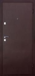 Входная дверь Эконом Волна-2 медь/клен