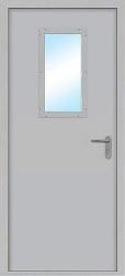 Противопожарная дверь Green Doors ДПМО-1-О-С