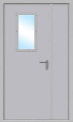 Двустворчатая дверь Green Doors ДПМО-2-О-С
