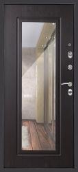 Входная дверь Сити венге с зеркалом