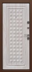 Входная дверь Контур дуб седой