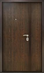 Входная дверь СНД Распашная 1200 венге