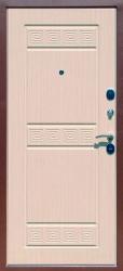 Входная дверь Троя 3К беленый дуб