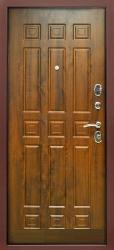 Входная дверь Троя 3К грецкий орех