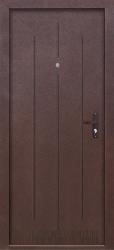 Входная дверь Стройгост 7-1 антик