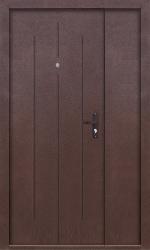 Входная дверь Стройгост 7-1-D-1300 антик