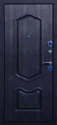 Входная дверь Экстра черная